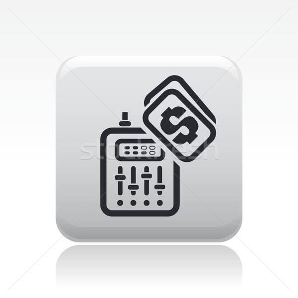 Mixer icon Stock photo © Myvector