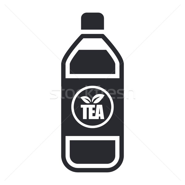 Thee fles icon bar Stockfoto © Myvector