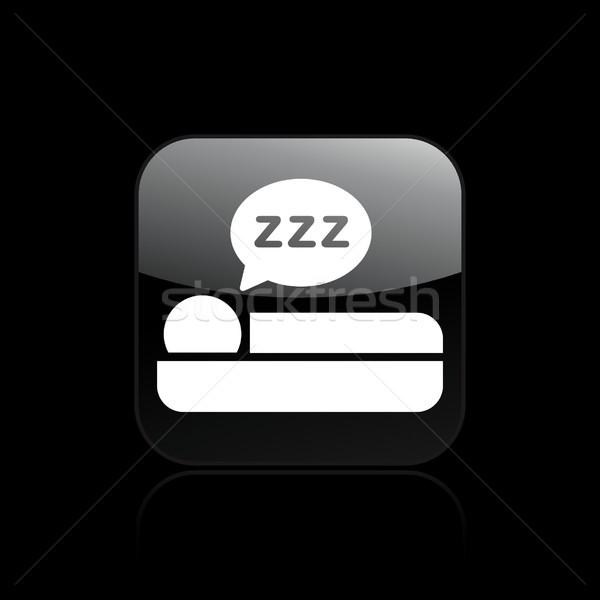 Sleep icon Stock photo © Myvector
