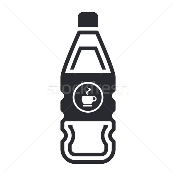 Stock fotó: Kávé · üveg · víz · ital · kávézó · folyadék