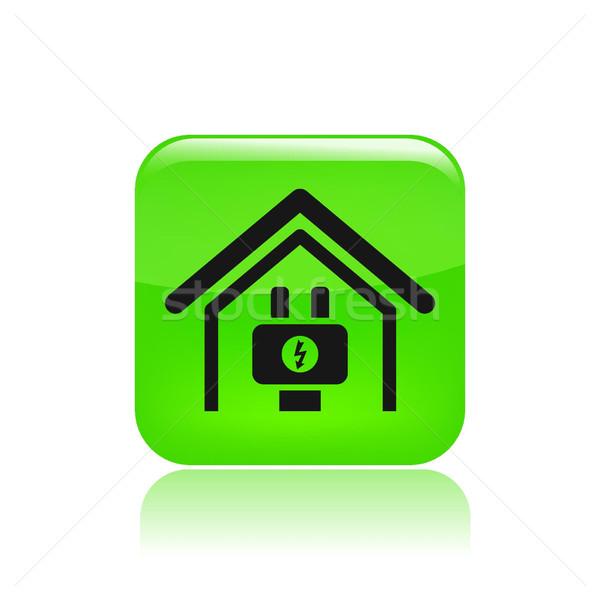 Energy home icon  Stock photo © Myvector