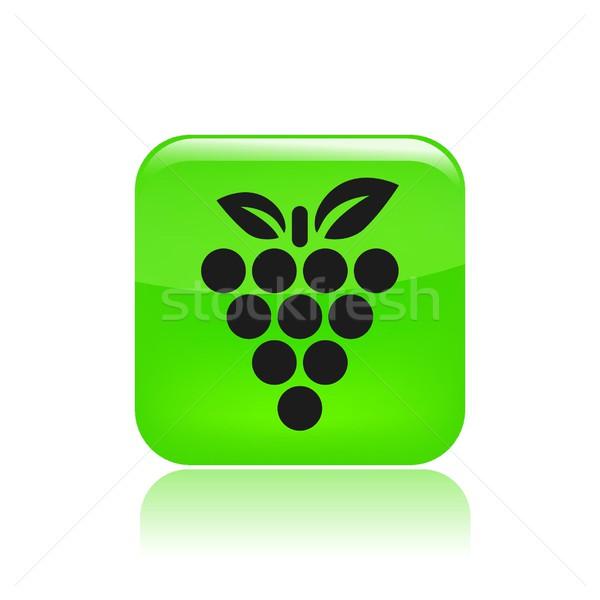 фрукты винограда икона природы Сток-фото © Myvector