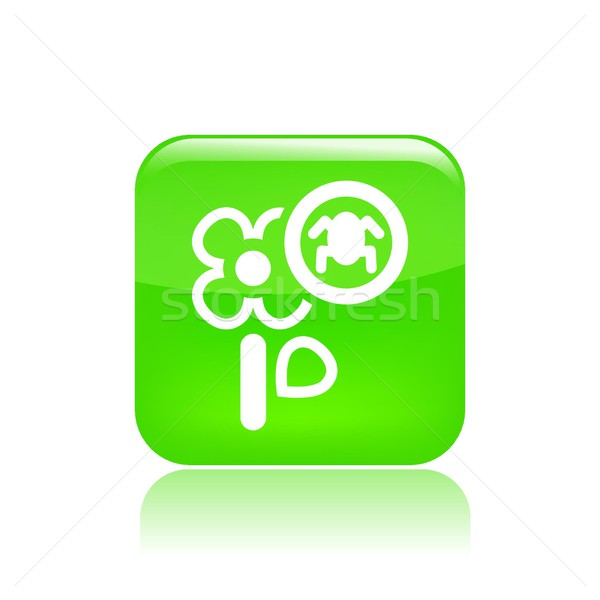 Flower pesticides icon Stock photo © Myvector