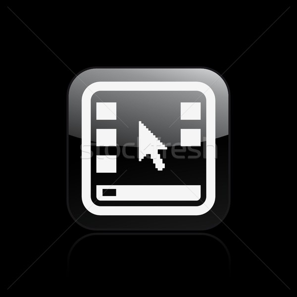 Desktop икона мыши концепция Сток-фото © Myvector
