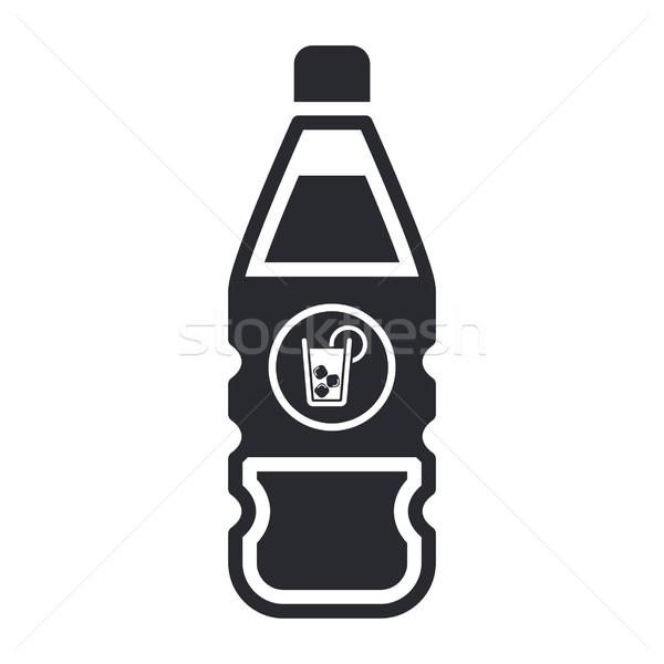 Сток-фото: пить · икона · чай · коктейль · Label