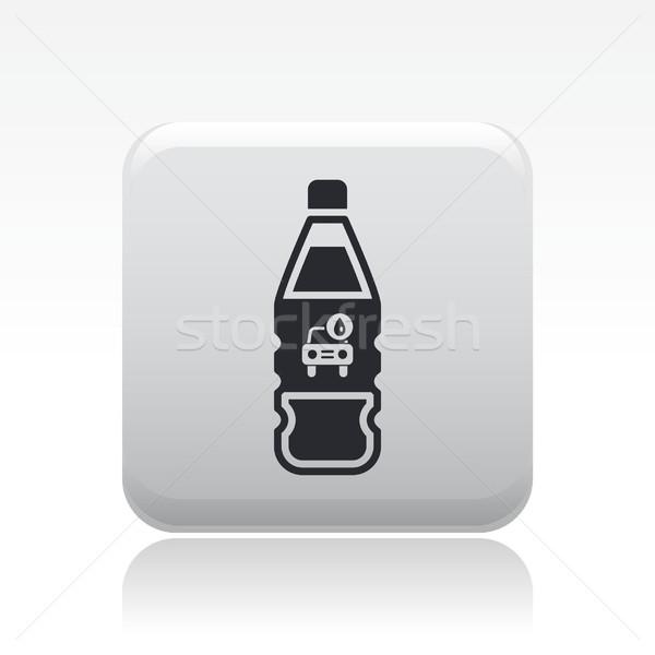 автомойку мыло икона жидкость бутылок мыть Сток-фото © Myvector