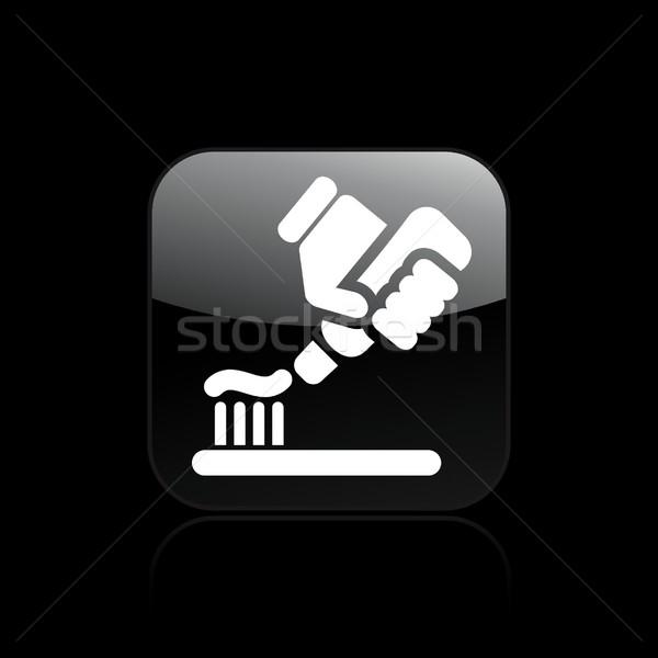 Diş macunu ikon tüp Stok fotoğraf © Myvector