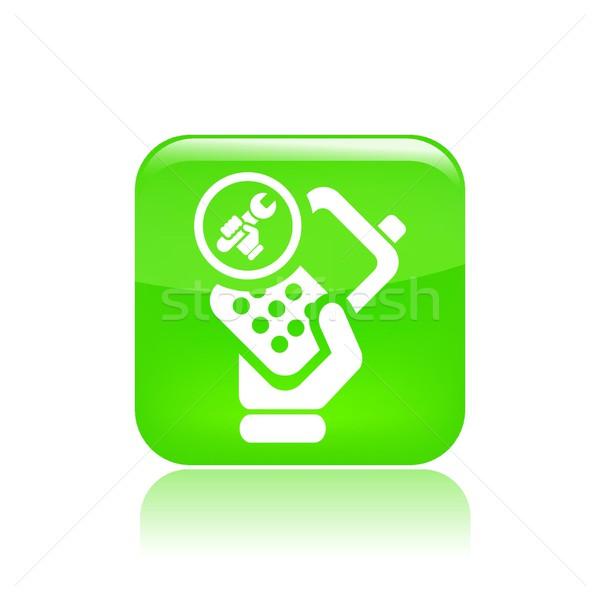 Phone repair icon Stock photo © Myvector