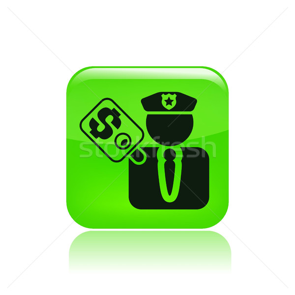 Money and police concept Stock photo © Myvector