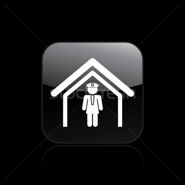 Police icon Stock photo © Myvector