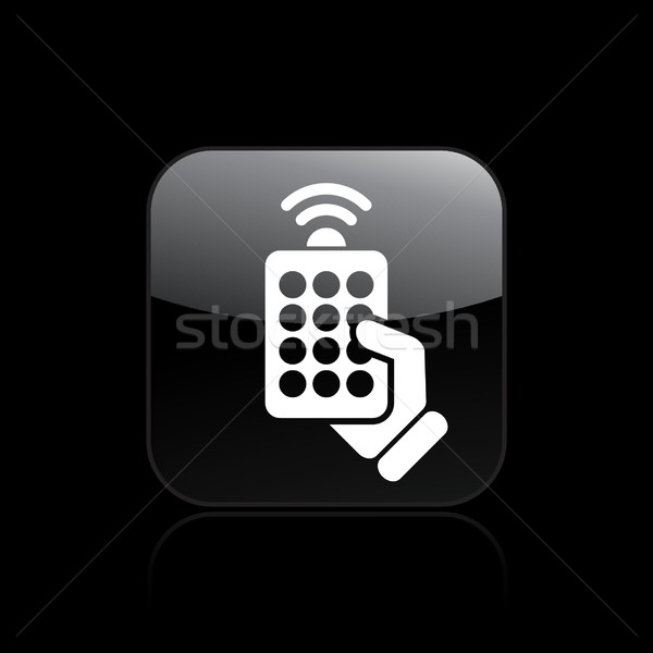 Remote icon Stock photo © Myvector