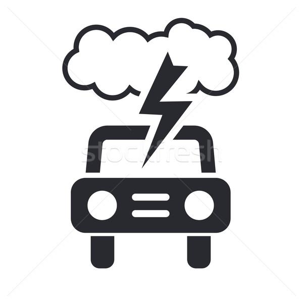 автомобилей Storm икона дороги дизайна машина Сток-фото © Myvector