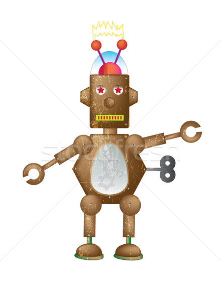 Brown Robot Stock photo © naffarts
