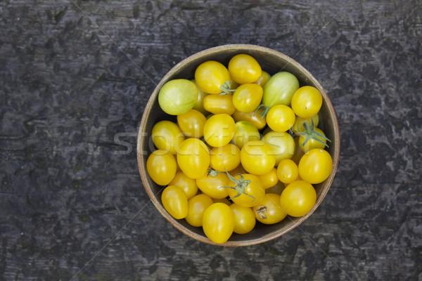 Pear Shaped Tomatoes Stock photo © naffarts