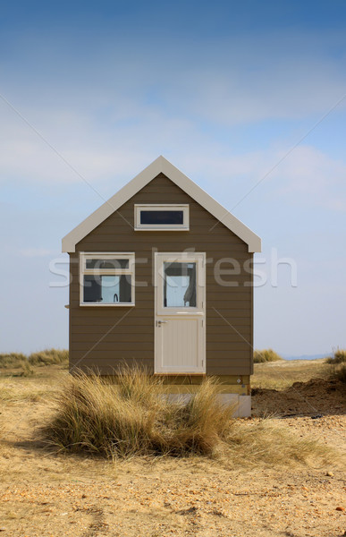 Isolated Beach Hut Stock photo © naffarts