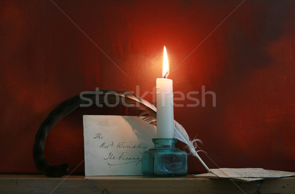 Pen and Quill Stock photo © naffarts