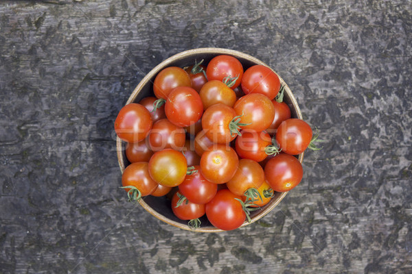 Stock photo: Bowl of Tomatos