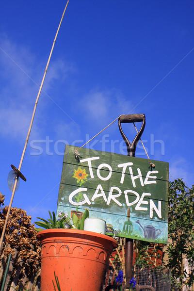 To The Garden 3 Stock photo © naffarts