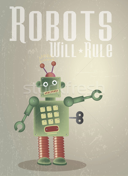 Robots Rule Stock photo © naffarts