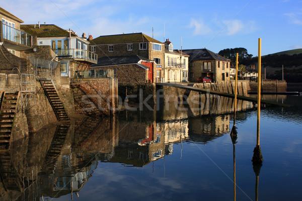 Still waters at Salcombe Stock photo © naffarts