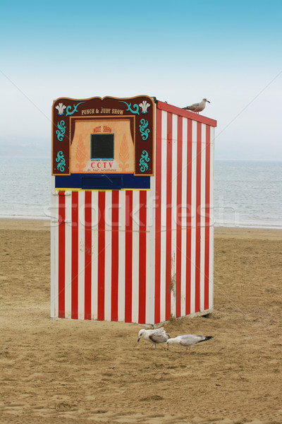 Punch & Judy Stock photo © naffarts