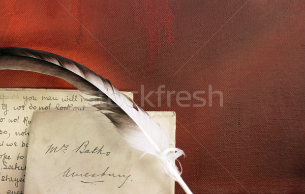 Period letter Stock photo © naffarts