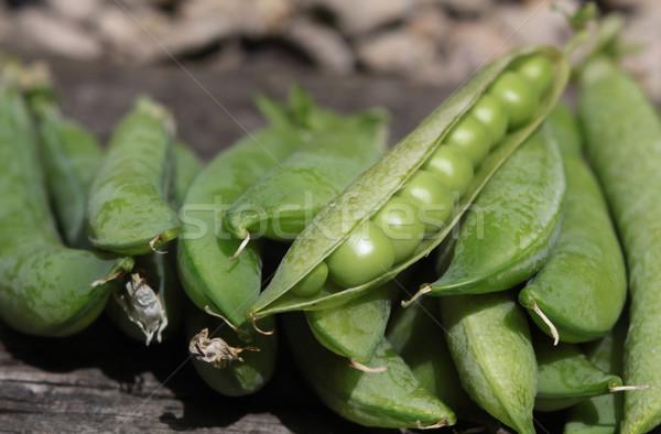 Fresh Peas Stock photo © naffarts
