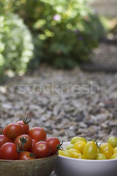 Stock photo: Fresh Tomatoes