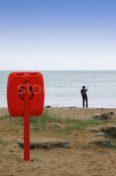 Fisherman Stock photo © naffarts