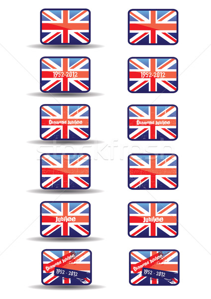 Stock photo: Jubilee Web Buttons