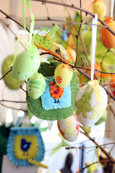 Stock photo: Easter Egg Tree