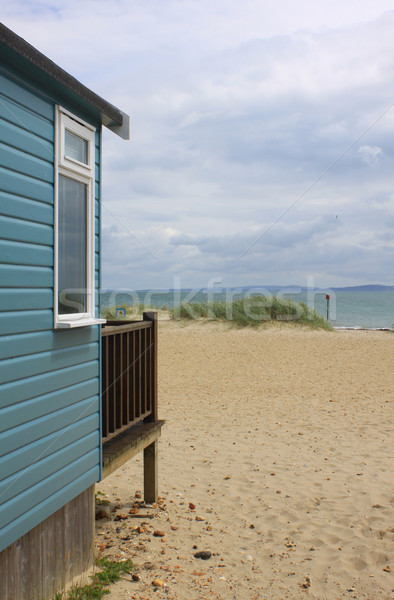 Beach Hut View Stock photo © naffarts