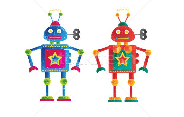 Robots Stock photo © naffarts