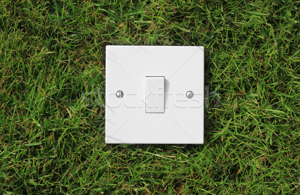 Green Switch Stock photo © naffarts