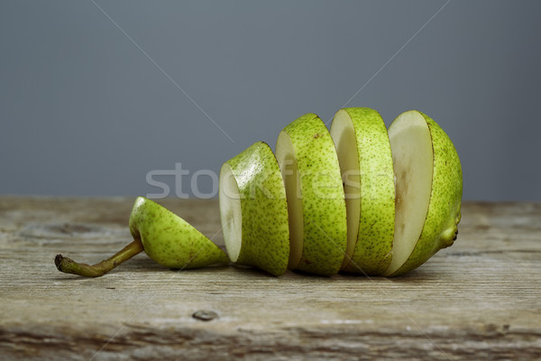 Sliced Pears Stock photo © nailiaschwarz
