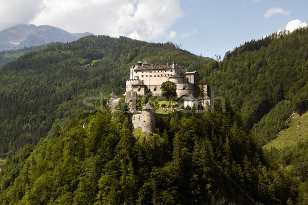 Castle Hohenwerfen Stock photo © nailiaschwarz