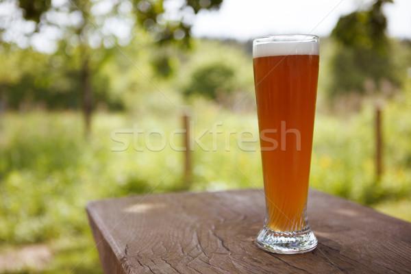 Fresh Wheat Beer Stock photo © nailiaschwarz