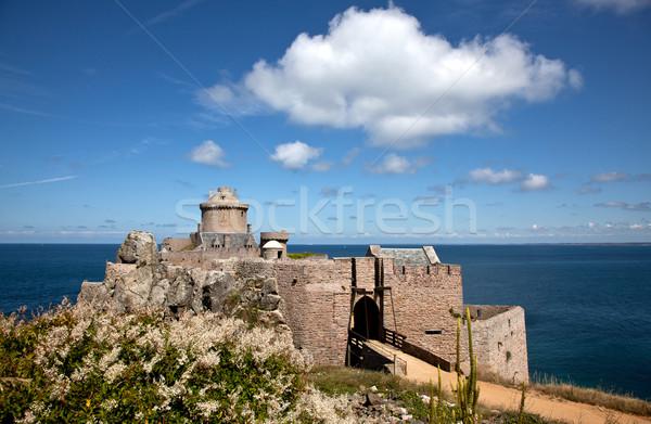 Fort la cap view nubi estate Foto d'archivio © nailiaschwarz