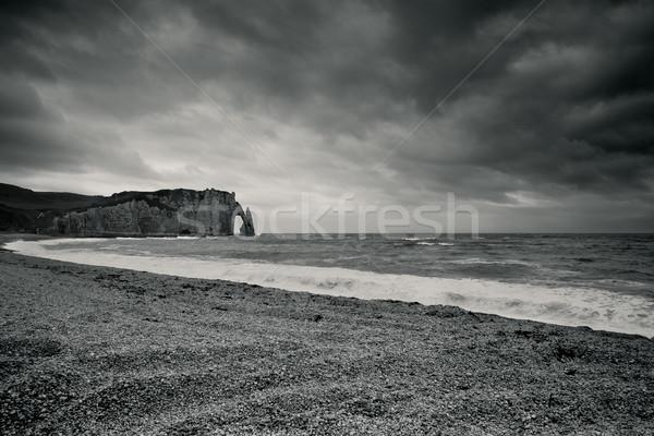 Niebo chmury morza Europie w. widoku Zdjęcia stock © nailiaschwarz