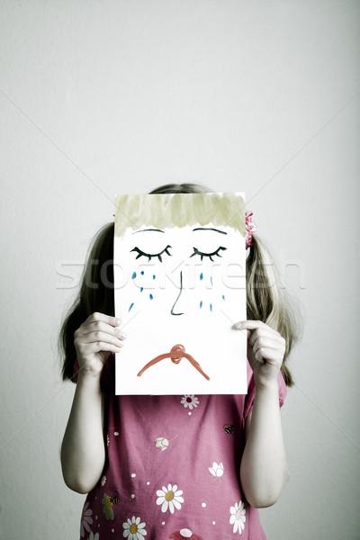 Sad face Stock photo © nailiaschwarz