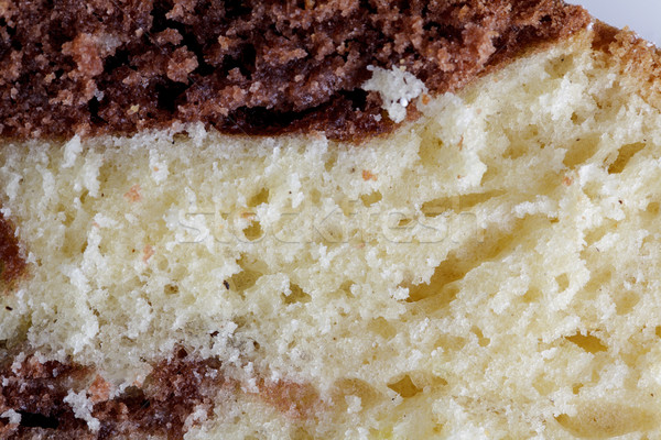 Mermer kek dilimleri taze Stok fotoğraf © nailiaschwarz