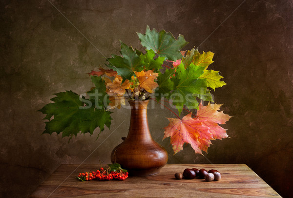 Autumn Still Life Stock photo © nailiaschwarz