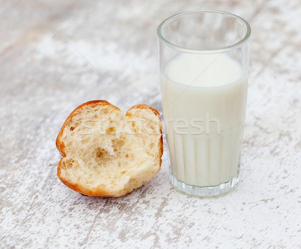 Milk and Brioche Stock photo © nailiaschwarz
