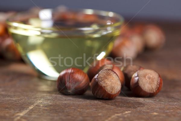 Hazelnut Oil Stock photo © nailiaschwarz