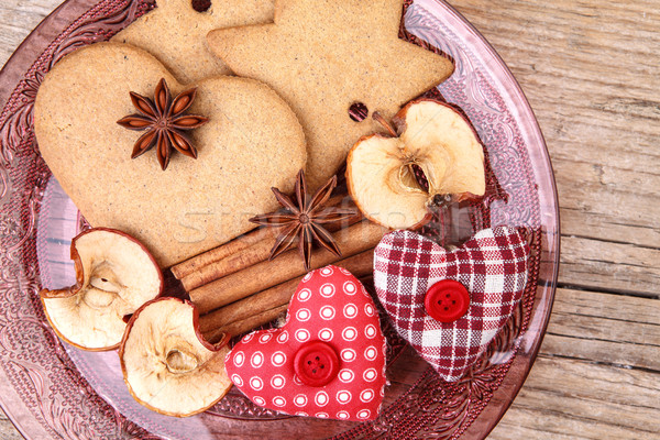 Christmas Gingerbread Stock photo © nailiaschwarz