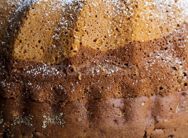 Mermer kek taze bütün Stok fotoğraf © nailiaschwarz