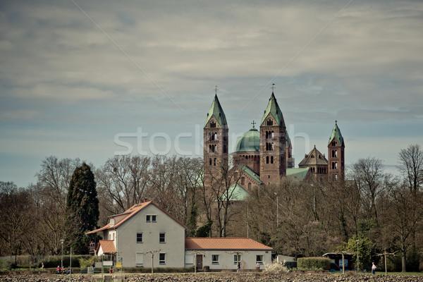 Kaiserdom Speyer Stock photo © nailiaschwarz