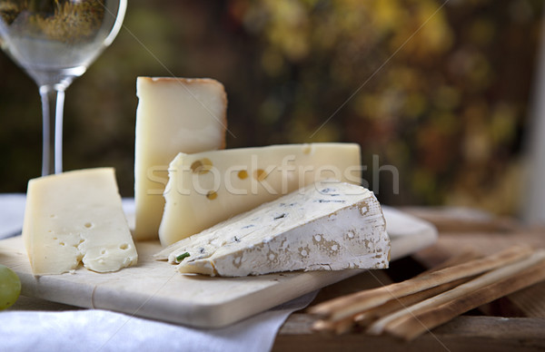 Cheese and Wine Stock photo © nailiaschwarz