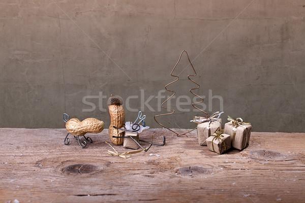 Christmas Presents Stock photo © nailiaschwarz