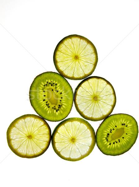 Kiwifruit and Lemon Stock photo © nailiaschwarz